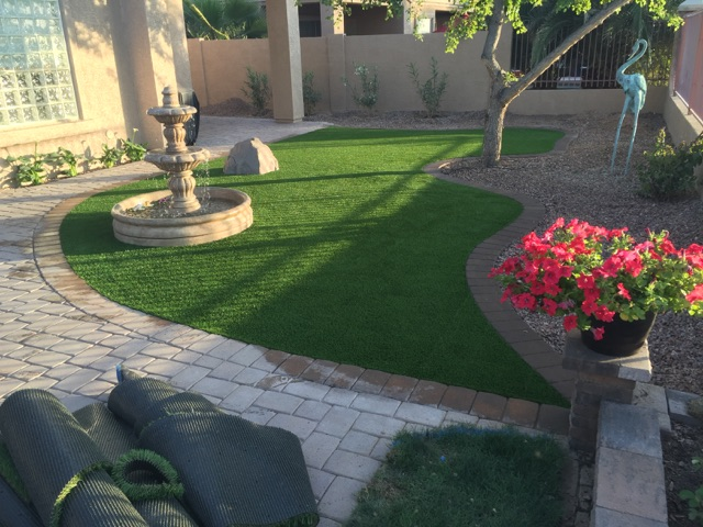 Artificial Grass Install-1