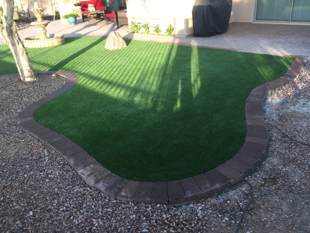 Artificial Grass Install-2