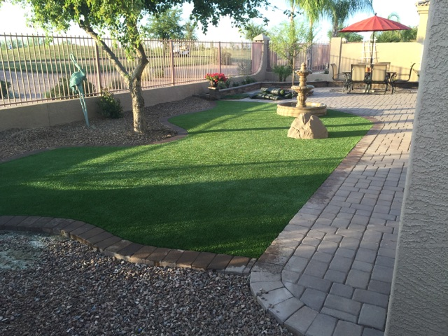 Artificial Grass Install-3