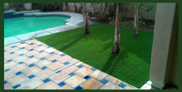 Artificial-Grass-by-Pool